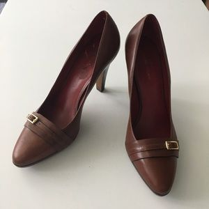 "NWOT Banana Republic 3"" Heels Platform Pumps Sz 10"